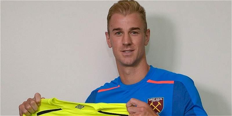 Joe Hart es nuevo jugador del West Ham, llega a prestamo por un año