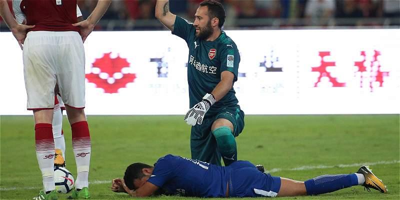 Pedro tiene \'fracturas múltiples\' después del choque con David Ospina