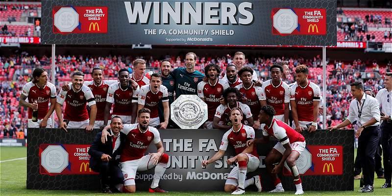 Ospina fue suplente en título de Arsenal, campeón de Supercopa inglesa