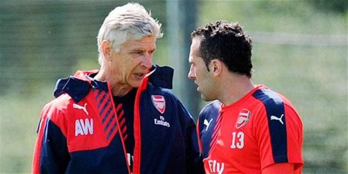 'No fue fácil convencer a Ospina de quedarse en el Arsenal': Wenger