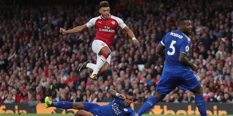 Arsenal venció 4-3 a Leicester