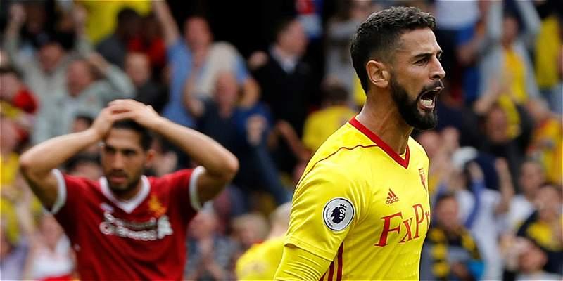 Otro partido de 'toma y dame' en la Premier: Watford 3-3 con Liverpool