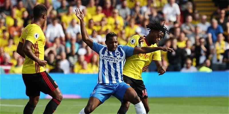 José H. Izquierdo debutó con el Brighton en el 0-0 contra Watford