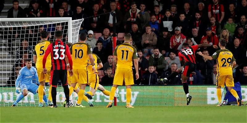 13 minutos para Izquierdo en derrota 2-1 de Brighton con Bournemouth