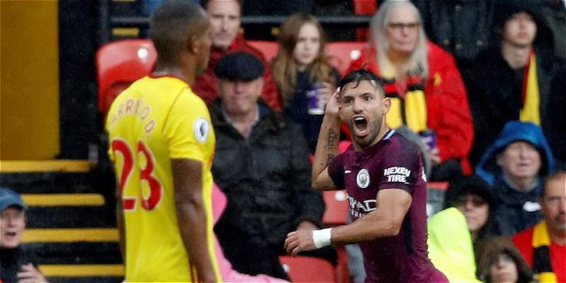 Paseo y goleada del Manchester City: venció 0-6 de visita a Watford