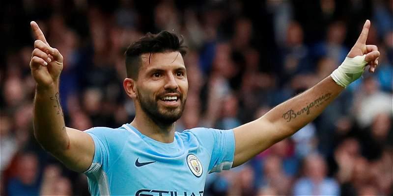 \'Kun\' Agüero, a 2 goles de ser el máximo anotador del Manchester City
