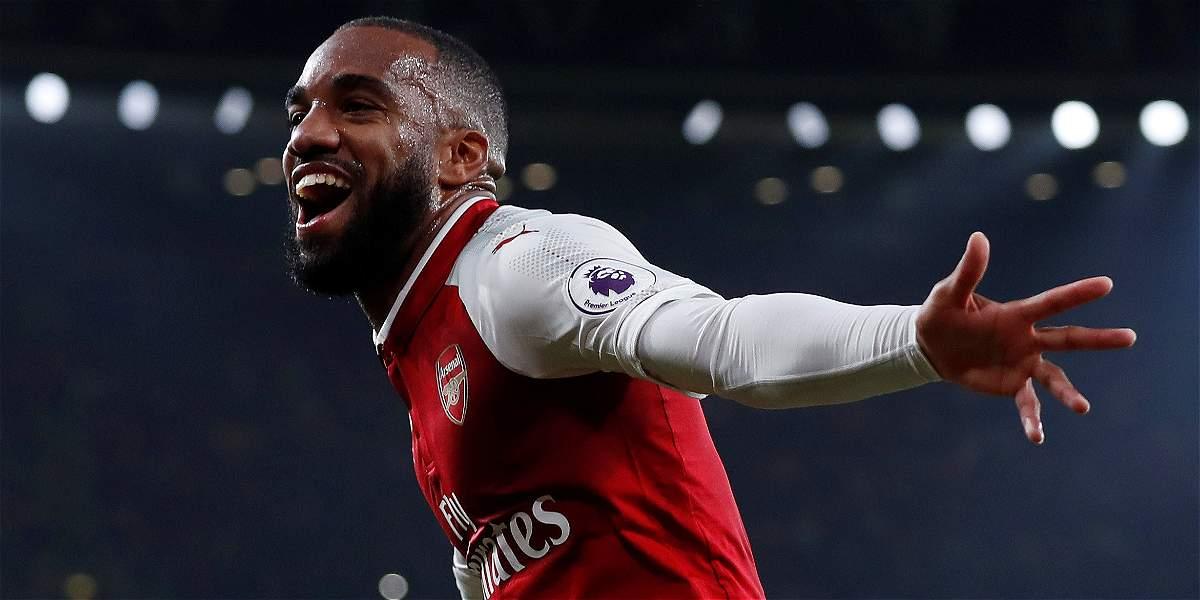 Con doblete de Lacazette, Arsenal superó 2-0 al West Bromwich Albion