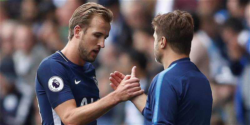 Tottenham, con un inspirado Kane, venció 0-4 al Huddersfield Town