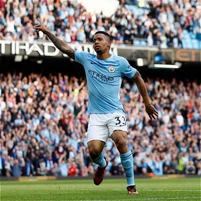 Manchester City golea 7-2 al Stoke City y es único líder en la Premier