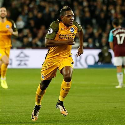 Izquierdo debutó en las redes: golazo en la victoria del Brighton 0-3