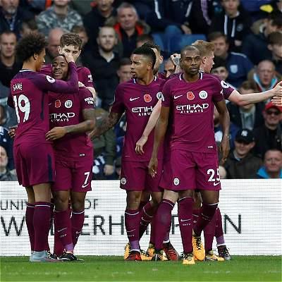 Manchester City, imparable en la Premier: venció 2-3 a West Bromwich