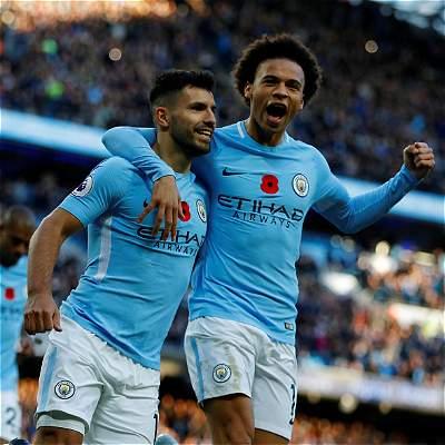Man. City le ganó 3-1 al Arsenal e impuso récord en la Premier