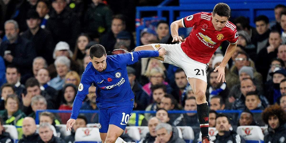 Chelsea venció 1-0 al United en un encuentro de tensión y emociones