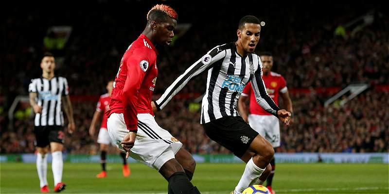Con el regreso de Pogba y Zlatan, el United le ganó 4-1 al Newcastle