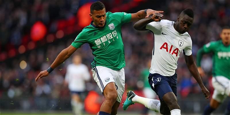 Dávinson, un guerrero en el empate 1-1 del Tottenham con West Bromwich