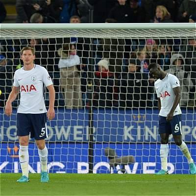 El Tottenham de Sánchez sigue sin ganar: cayó 2-1 con Leicester