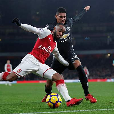 Arsenal fue el del juego, pero el triunfo fue para el United 1-3