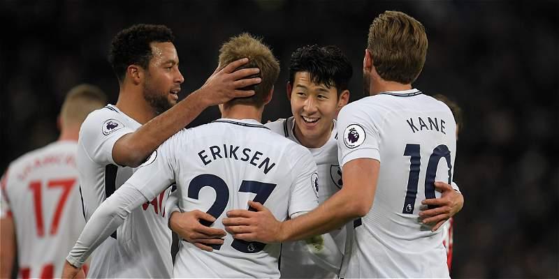 Tottenham volvió al triunfo y con goleada por 5-1 al Stoke City