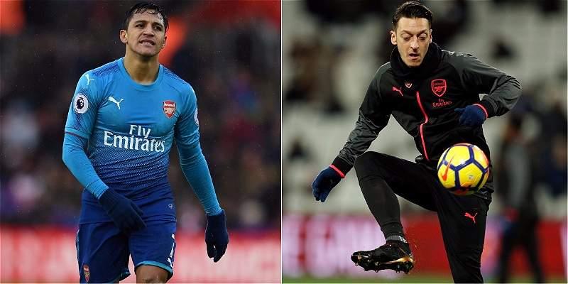 Alexis y Ozil