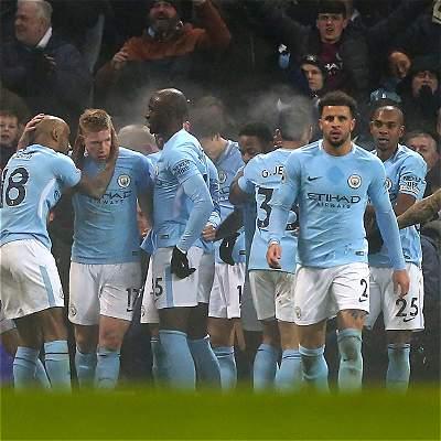 No hay quien pare al Manchester City: goleó 4-1 al Tottenham