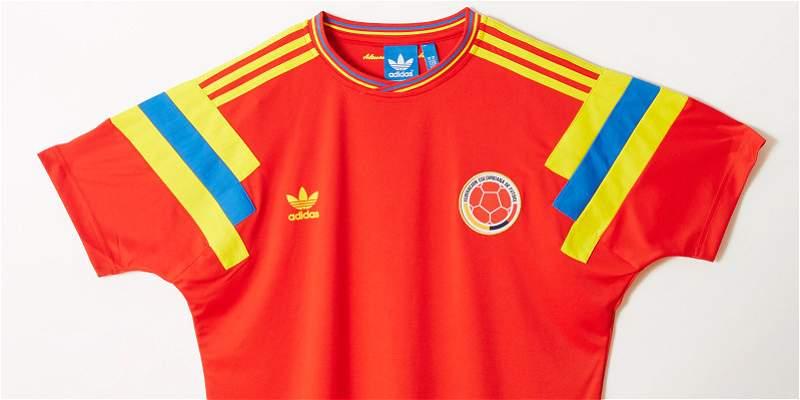 camisetas adidas seleccion colombia
