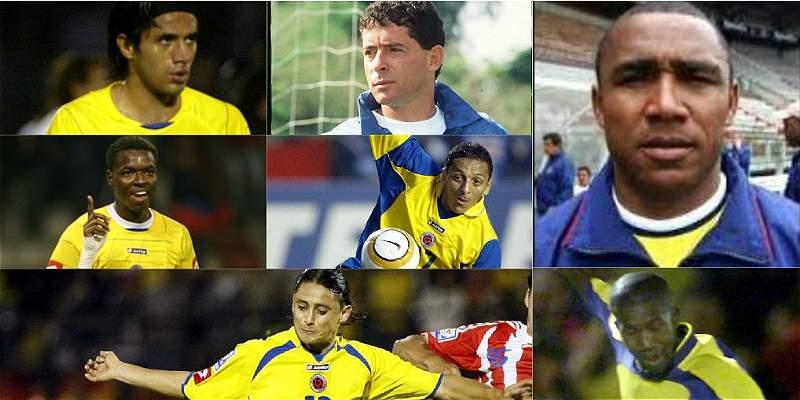 Siete exjugadores de Selección Colombia analizan al equipo Pékerman