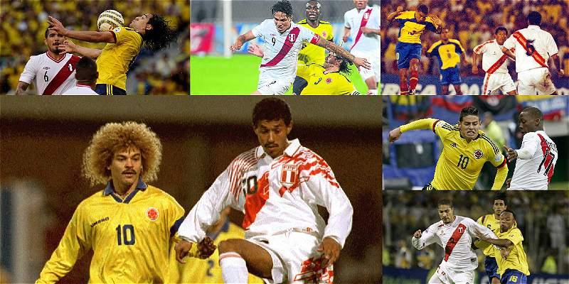 Por Eliminatoria, Colombia tiene balance positivo contra Perú en casa