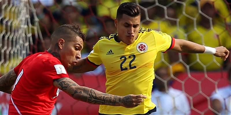 Colombia vs Perú para nota falsa