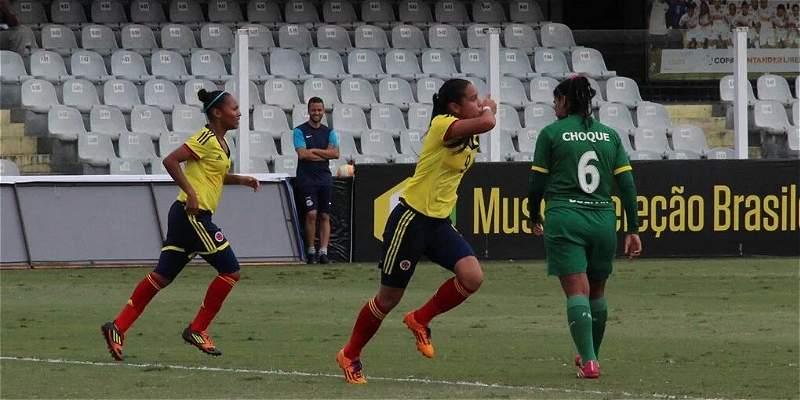 Colombia Sub-20 femenina venció 2-0 a Bolivia, en el Suramericano