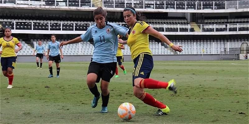 En el Suramericano Sub-20 femenino, Colombia goleó 4-0 a Uruguay