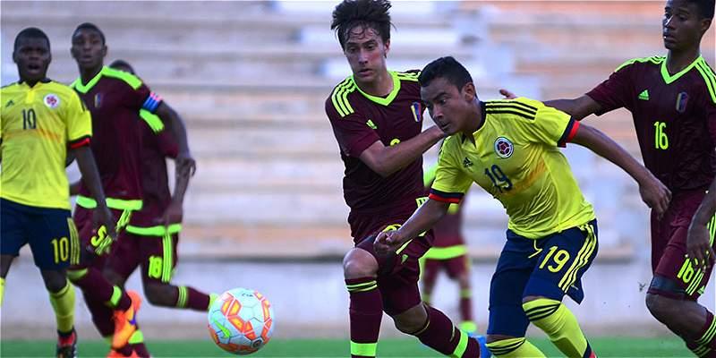 En el Sub-15, Colombia superó 4-3 a Venezuela en un duelo vibrante