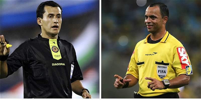 Colombia no ha perdido partidos con Enrique Osses como árbitro