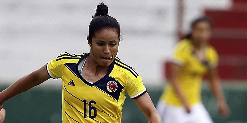 Selección Colombia femenina derrotó 2-0 a Venezuela, en amistoso