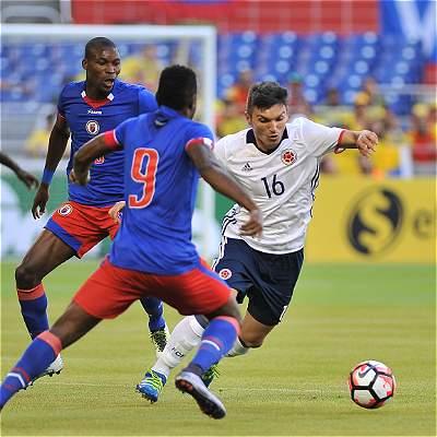 Colombia vs Haití amistoso
