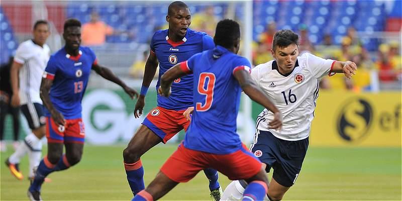 Colombia y un amistoso en el que dejó buena imagen: 3-1 sobre Haití