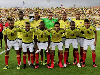 Colombia vs Honduras / galería