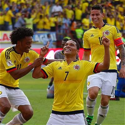 Selección Colombia Eliminatorias