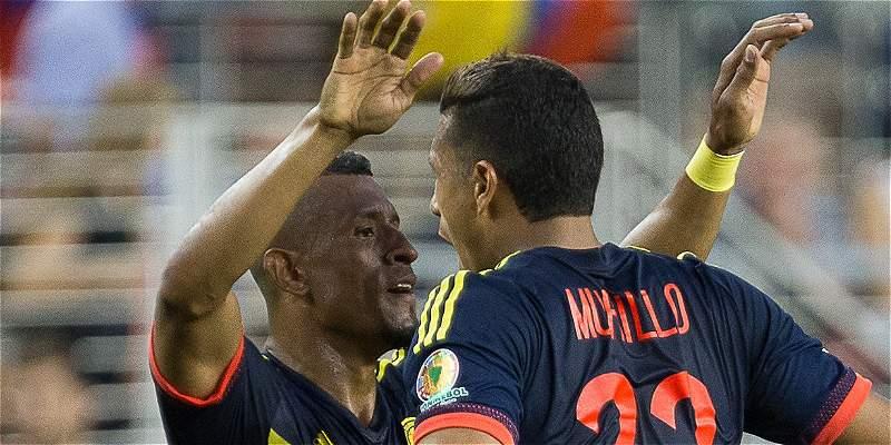 Farid Díaz Selección Colombia