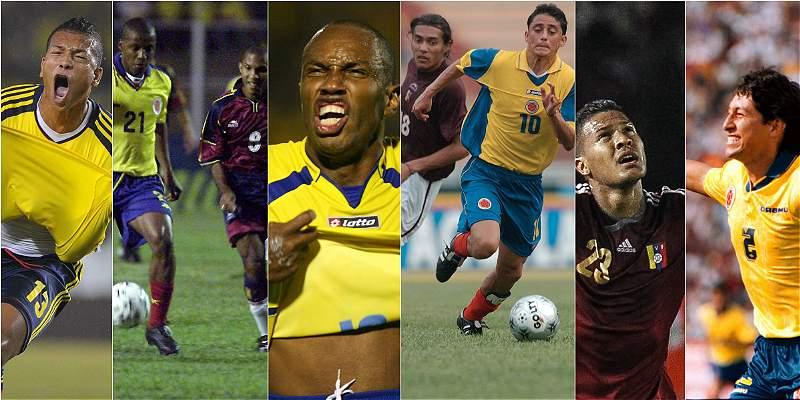 En fotos: así han sido los últimos Colombia-Venezuela en Eliminatorias