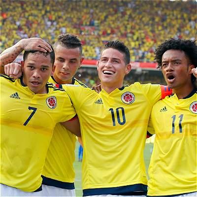 Resultado de imagen para colombia vs venezuela eliminatorias 2018