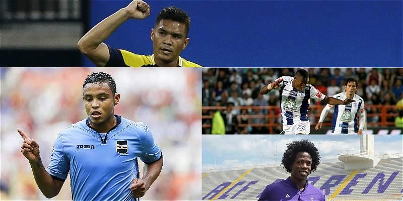 Agenda del fin de semana de los jugadores de la Selección Colombia