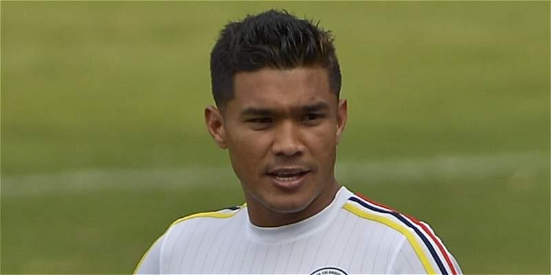 Teófilo Gutiérrez se lesionó y tendrá 15 días de incapacidad