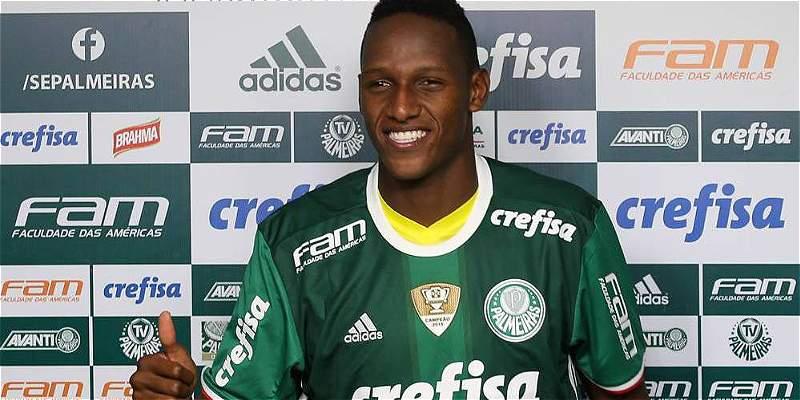 Técnico de Palmeiras lo adelanta: Yerry Mina vuelve a la Selección