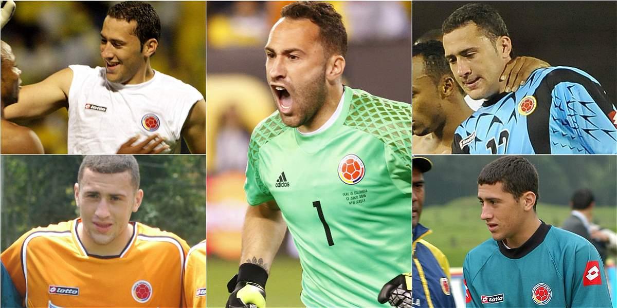 Día histórico para Ospina: llega a 100 juegos en selecciones Colombia