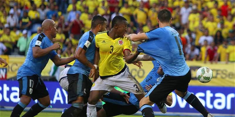 Colombia puso garra y salvó un empate contra el líder: 2-2 con Uruguay