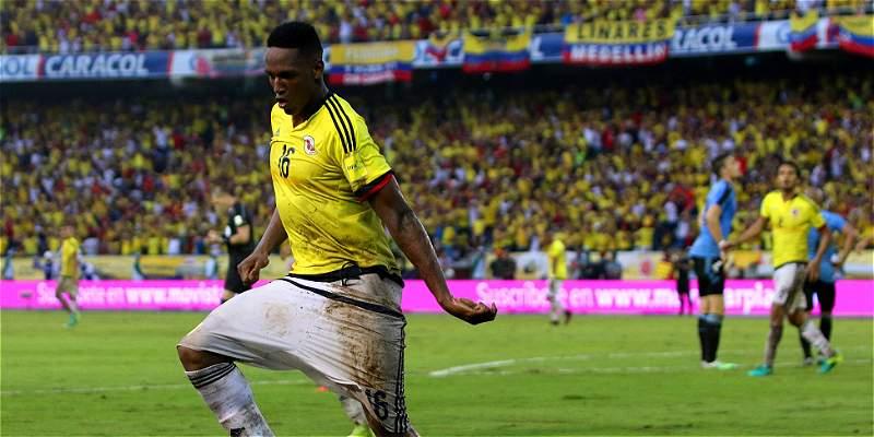 Yerry Mina llegó para quedarse en la Selección Colombia