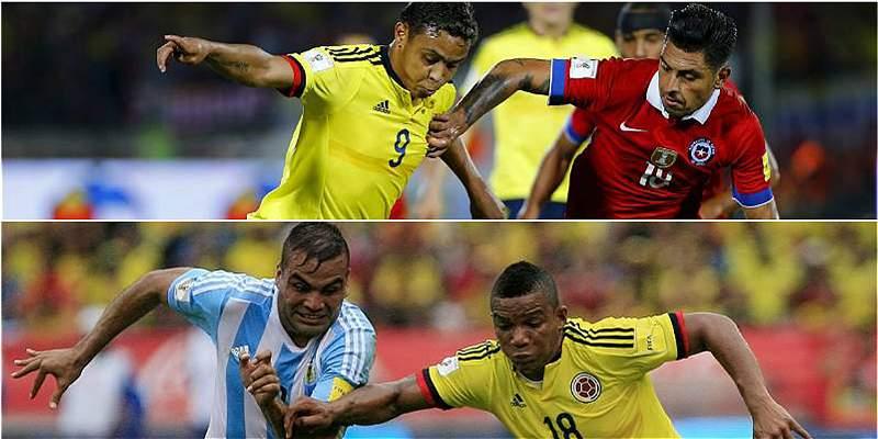 Fecha y hora de los juegos de Colombia contra Chile y Argentina