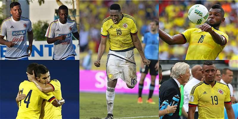 Jugadores que debutaron con Colombia