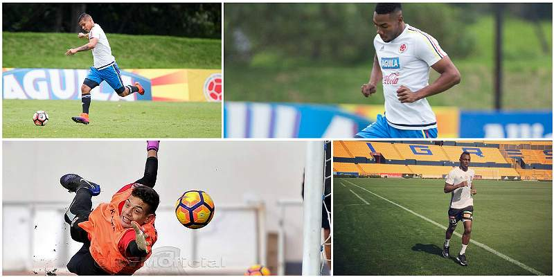 Referentes de Colombia Sub-20 / Collage