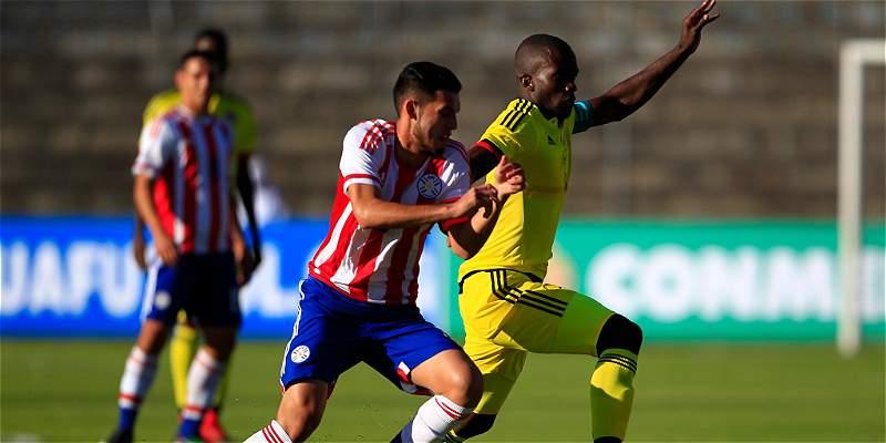 Colombia Paraguay Sudamericano Sub 20